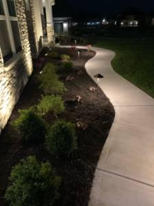 Path light installation